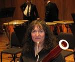 betsy sturdevant, principal bassoonist, columbus symphony