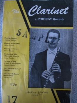 Clarinet Magazine, 1954
