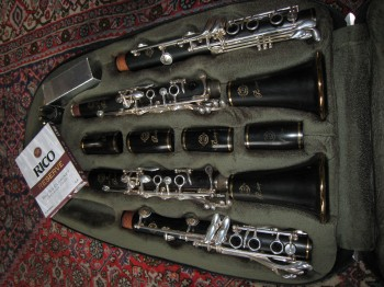 Selmer Privilege Clarinets set of Bb and A