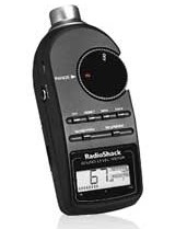 Radio Shack Sound Meter, clarinet longtones
