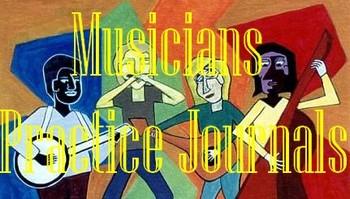 musicians practice journals
