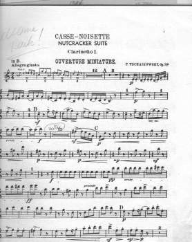Tchaikovsky Nutcracker clarinet solo