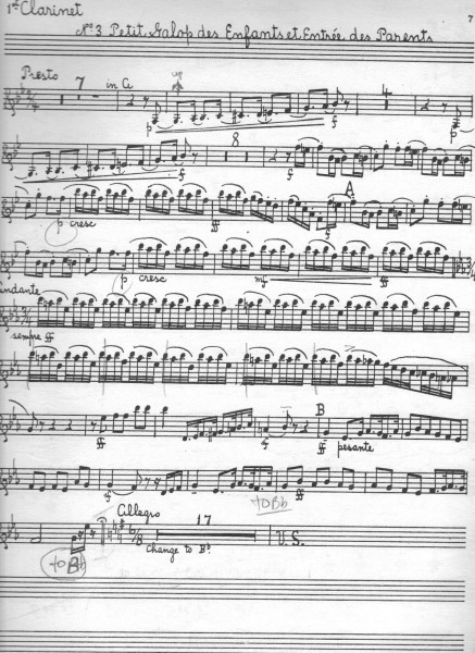 Tchaikovsky Nutcracker clarinet