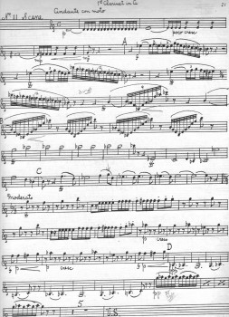Tchaikovsky Nutcracker clarinet excerpt 5