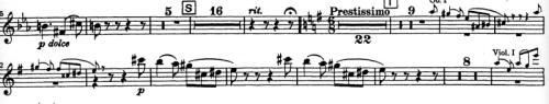 Tchaikovsky Piano concerto clarinet part 1